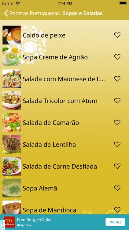 Receitas Portuguesas screenshot-6