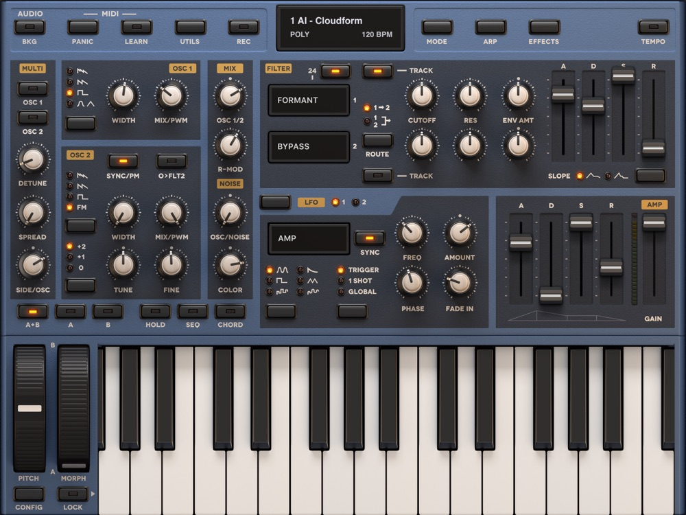 Sunrizer synth App for iPhone - Free Download Sunrizer synth for
