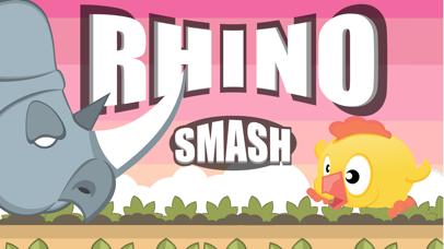 Rhino Smash the birdie escape screenshot two