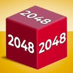 Chain Cube : fusion 2048 3D pour pc