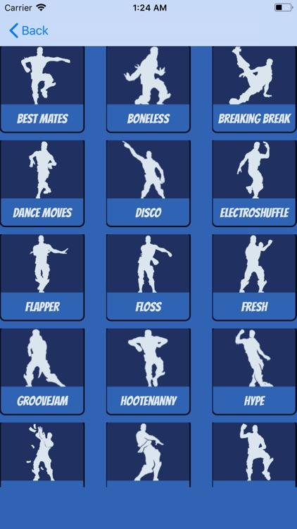 Dances Challenge For Fortnite