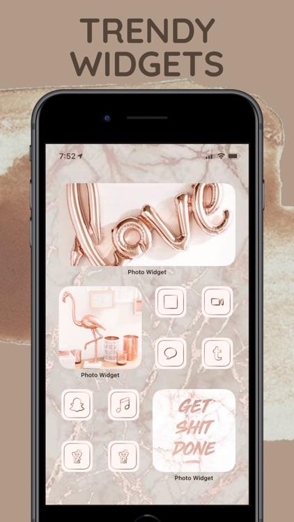 Photo Widget - Aesthetic Icons