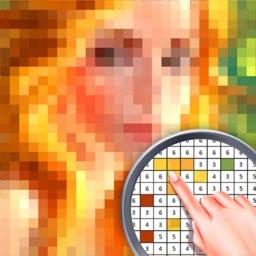 Pixel Art Color Sandbox