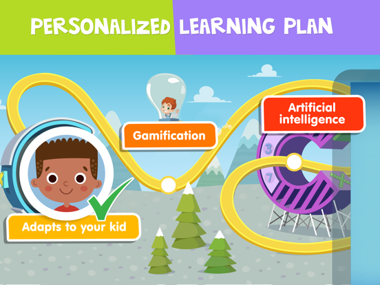 Preschool and kindergarten learning games for kids and toddlers: math, reading, educational puzzles and books free screenshot