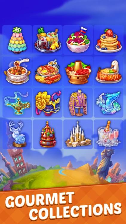 Mahjong Food City screenshot-5