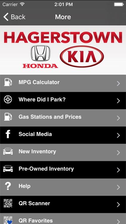 Hagerstown Honda Kia by MobileAppsPRN