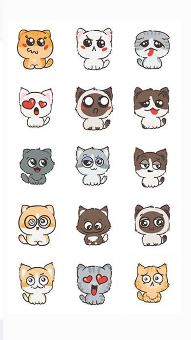 Kittens Emoji Keyboard Screenshots