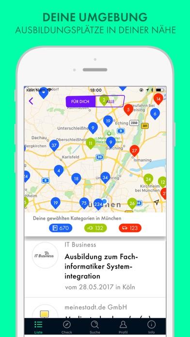 Screenshot 3 Ausbildung finden - TalentHero