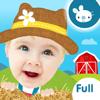 OkiPlay Educational Apps & Preschool Games Ltd - Peek a Boo Farm Animals Sounds artwork
