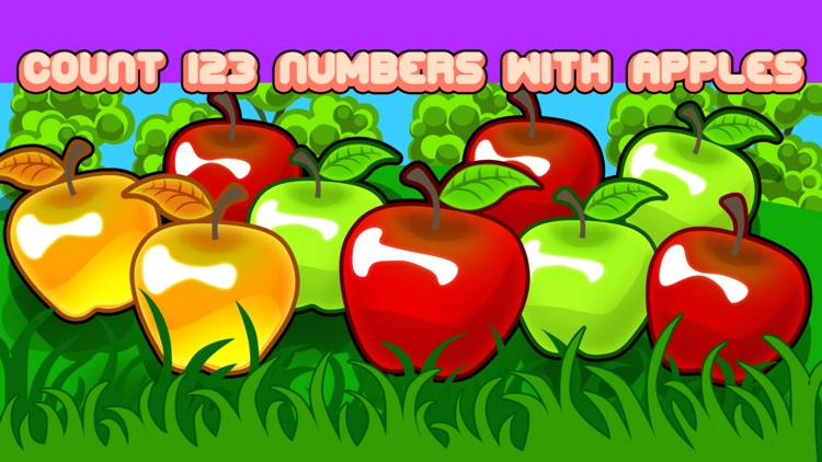 Count 123 numbers with Apples