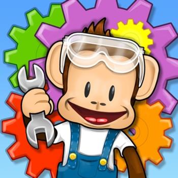 Monkey Preschool Fix-It Logo