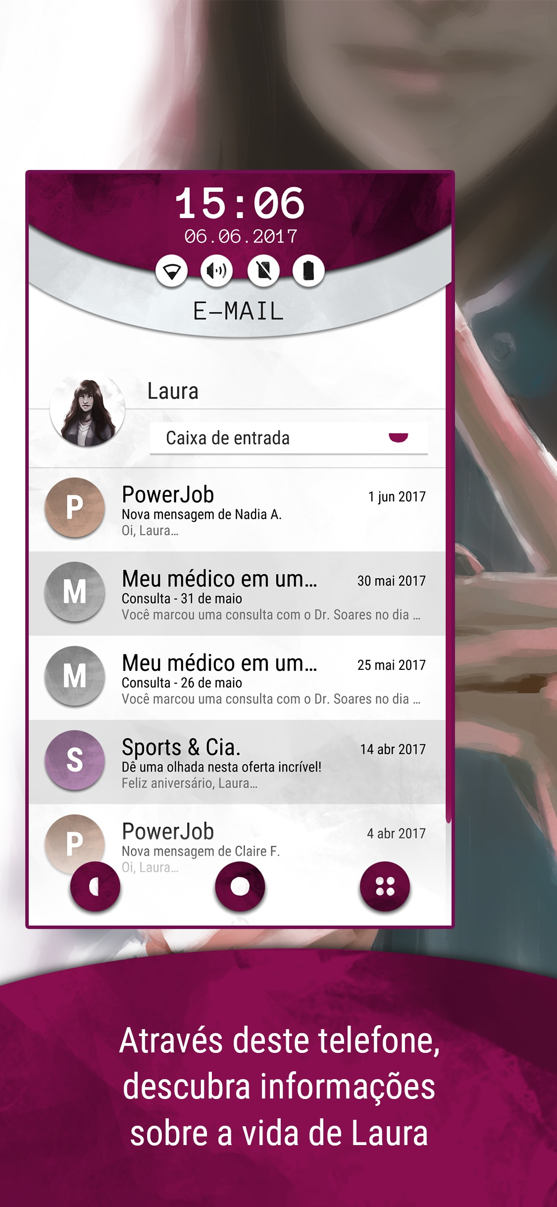 Screenshot do app Another Lost Phone