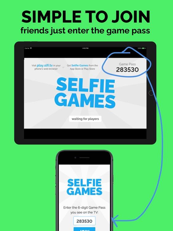 Selfie Games [TV]: Party Game screenshot-4