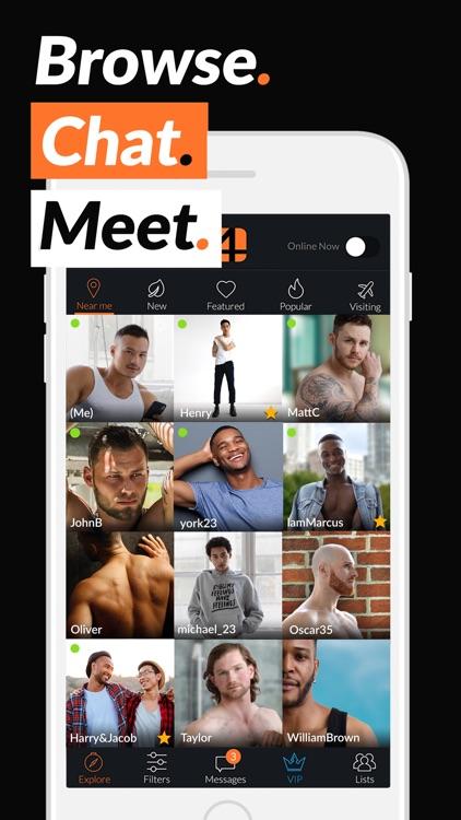 Adam4Adam Gay Dating Chat A4A screenshot-0
