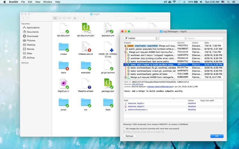 Snailgit review screenshots