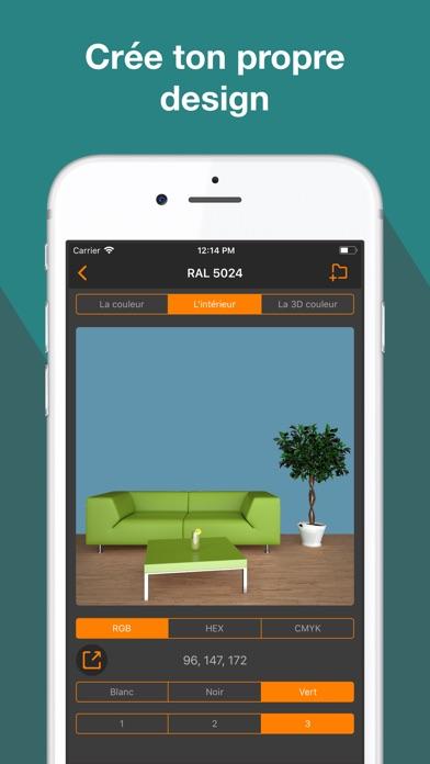 Screenshot #2 pour RAL couleur. 3D nuancier