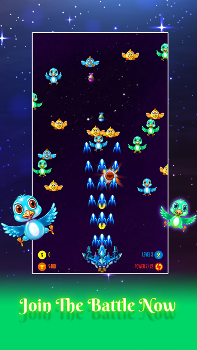 Captain Galaxy: Chicken Attack 4