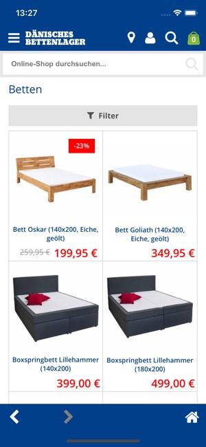 Danisches Bettenlager Im App Store