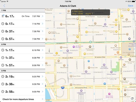 Transit Tracker - Chicago-ipad-0
