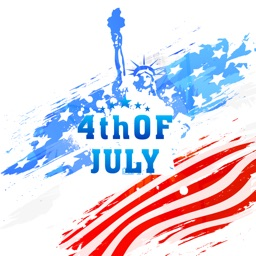 USA Happy Independence Day App