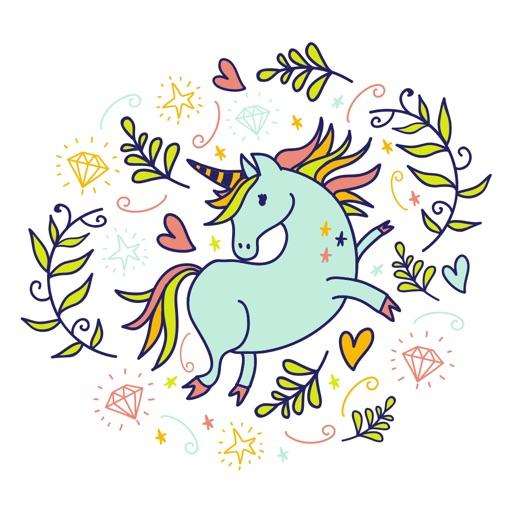 Magical Unicorn Stickers