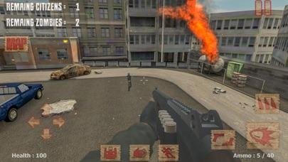Zombie Hunter: Shooting FPS 3D screenshot one