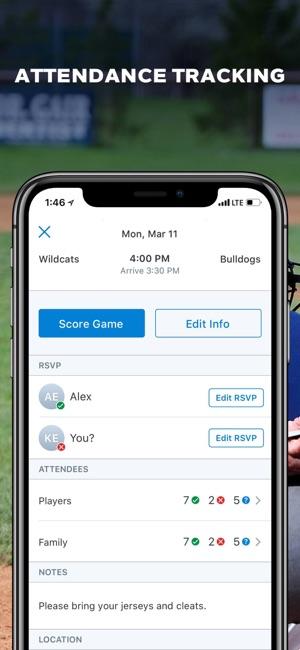 gamechanger baseball softball on the app store
