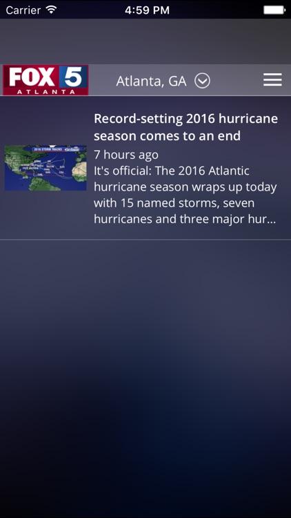 FOX 5 Storm Team screenshot-3