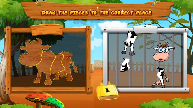 Preschool Zoo Puzzles Zoolingo screenshot-7