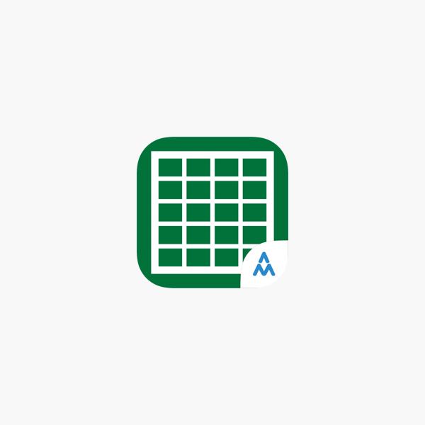 Vorlagen Fur Microsoft Excel Im App Store