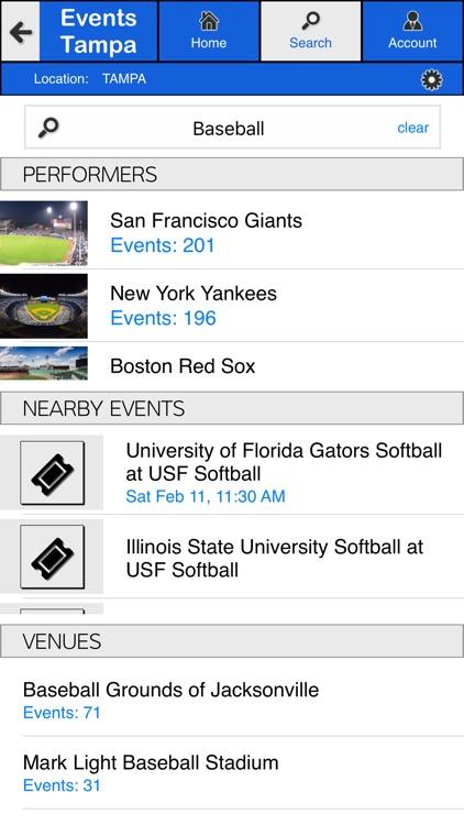 Events Tampa screenshot-3