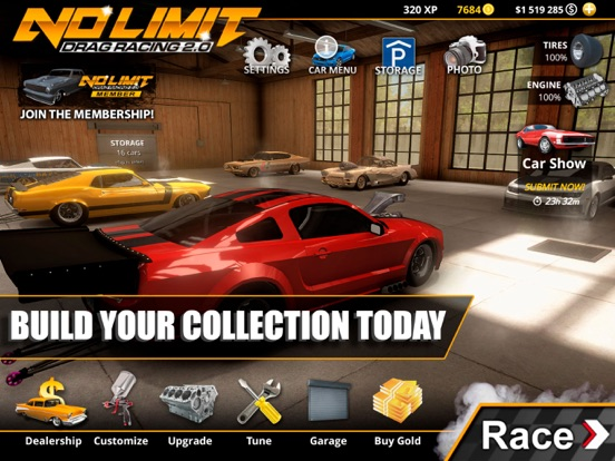 No Limit Drag Racing 2 screenshot 12