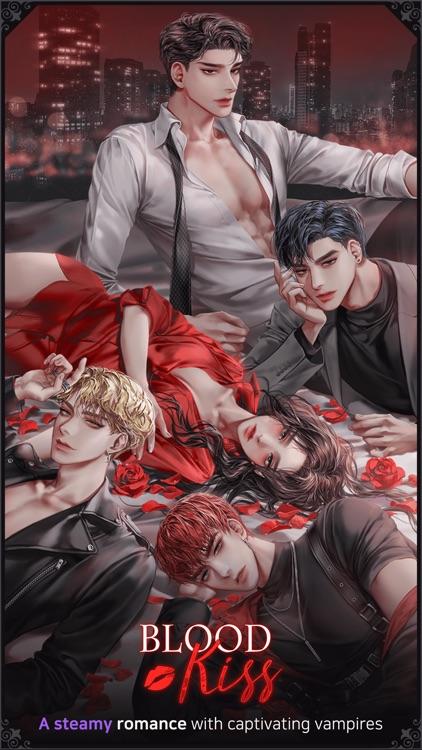 BloodKiss : Vampire romance screenshot-3