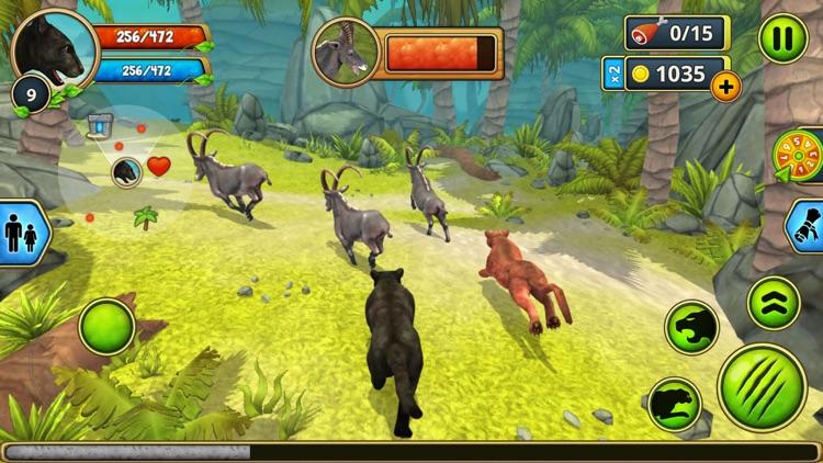 Panther Family Sim : Jungle screenshot-4