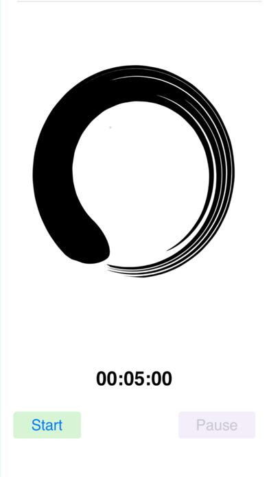 White Noise Meditation Timer screenshot three