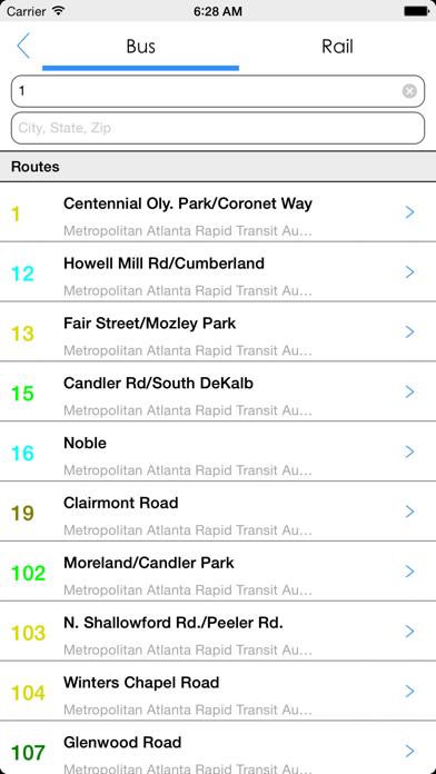 Transit Tracker - Atlanta-4