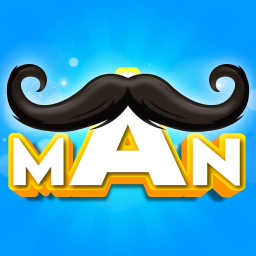 Mustache Man Run