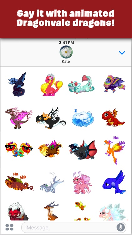 DragonVale Stickers