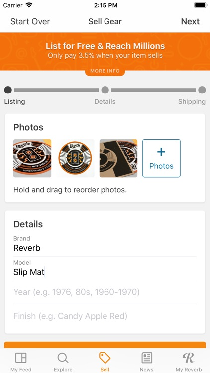 Reverb.com — Buy & Sell Gear screenshot-4