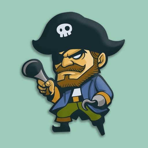 Pirate Marine Stickers