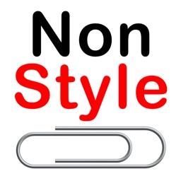 Plain text editor NonStyleClip