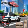 Police Car Pursuit in City