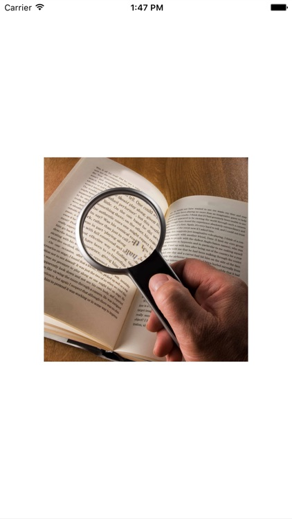 Magnifier - Zoom in or out