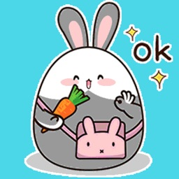 Bunny Fat Animated Stickers