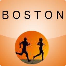 Marathon Map for Boston