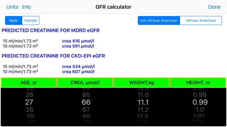 GFR EasyCalc screenshot-4