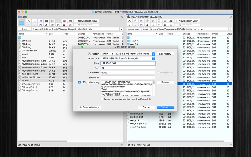 SimpleClient for Mac