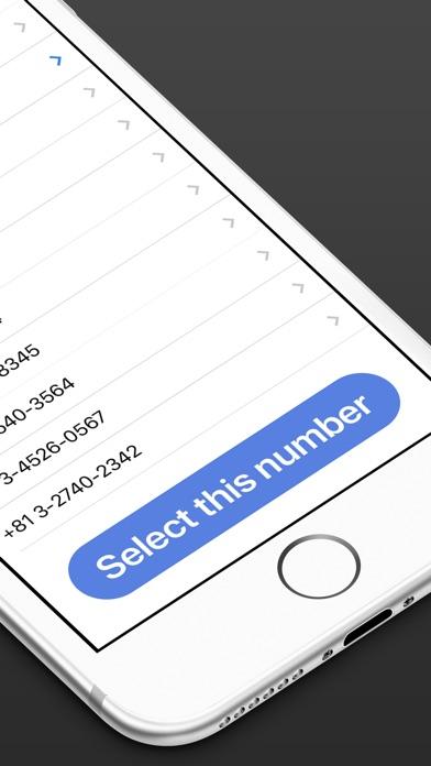 自由に電話番号を作成-国内/国際通話&メッセージスクリーンショット