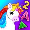 Juegos unicornio niños +2 años