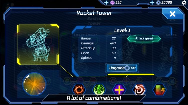 Module TD. Sci-Fi Tower Defens screenshot-4